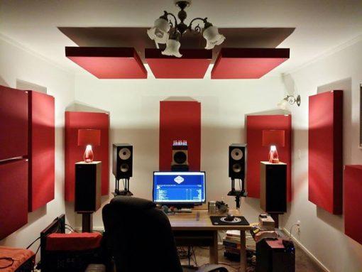 GIK Acoustics 242 Acoustic Panels in Auckland NZ home Studio