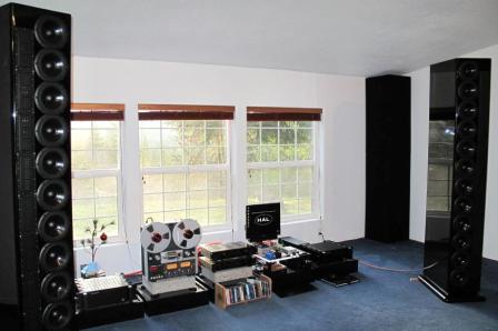 GIK Soffit Traps listening room