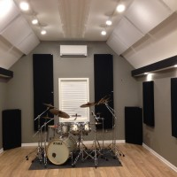Justin Vidal Home Studio GIK 242 Acoustic Panels