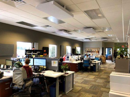Shaun Schroeder JSA Insurance GIK 242 Acoustic Panels Ceiling Cloud Brackets
