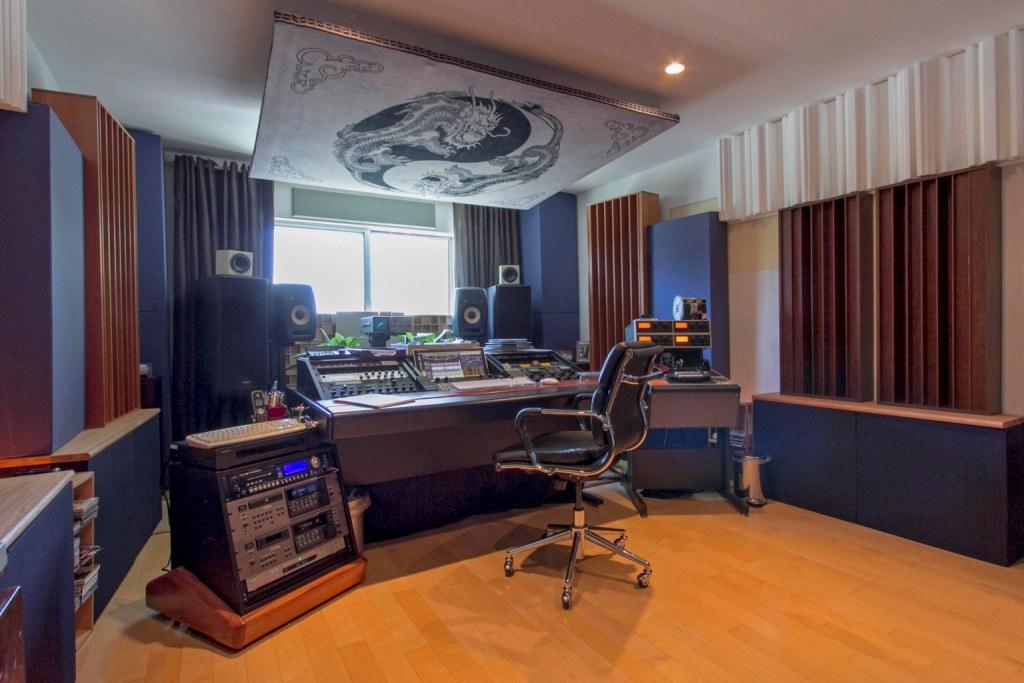 Marsh Mastering studio GIK Acoustics