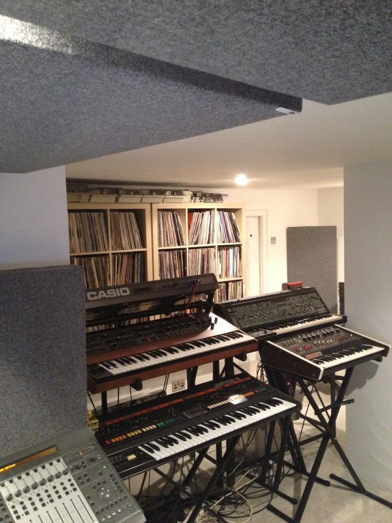 Wisternoff Studio GIK Acoustics Bass Trap