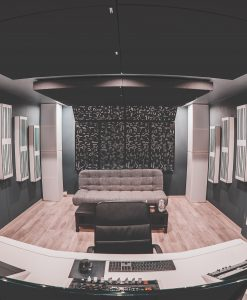 Loic Allievi Studio GIK Acoustics Alpha Pro Series