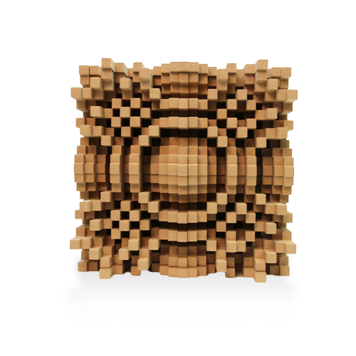 "Gotham N23 5"" Quadratic Diffusor - GIK Acoustics Europe"