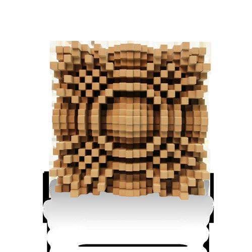 """Gotham N23 5"""" Quadratic Diffusor - GIK Acoustics Europe"""