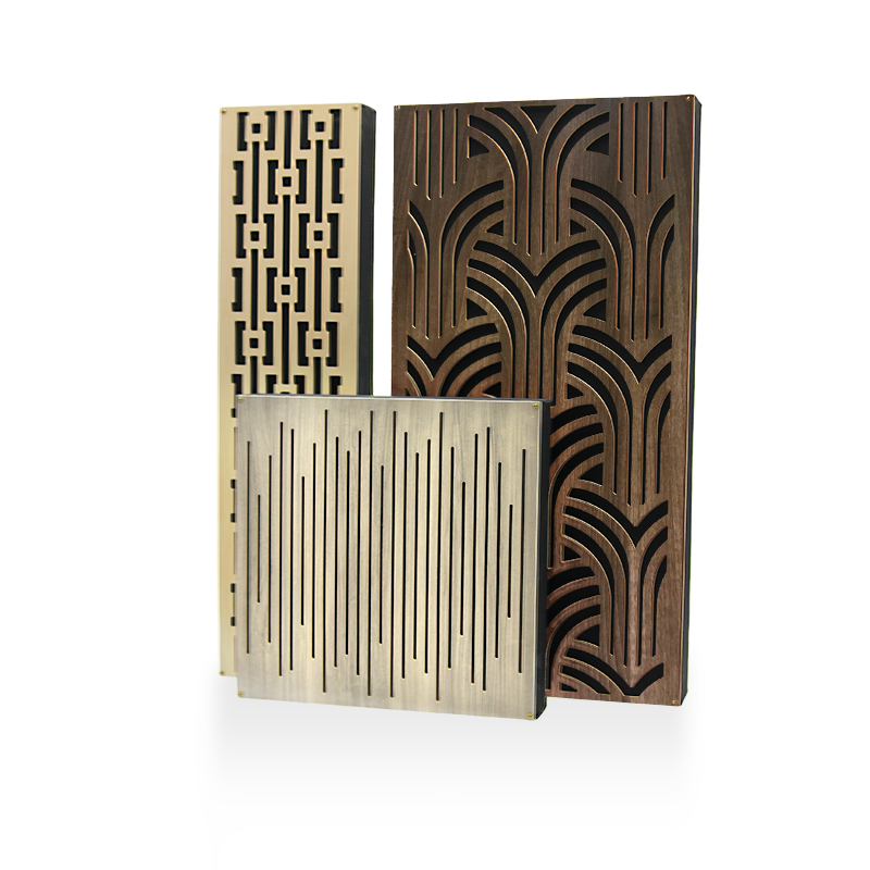 Impression Series Acoustic Panels and Bass Traps in all finishes