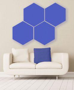 GIK Acoustics Hexagon absorber farbe