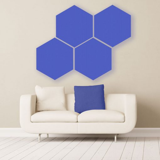 GIK Acoustics Hexagon absorber farbe