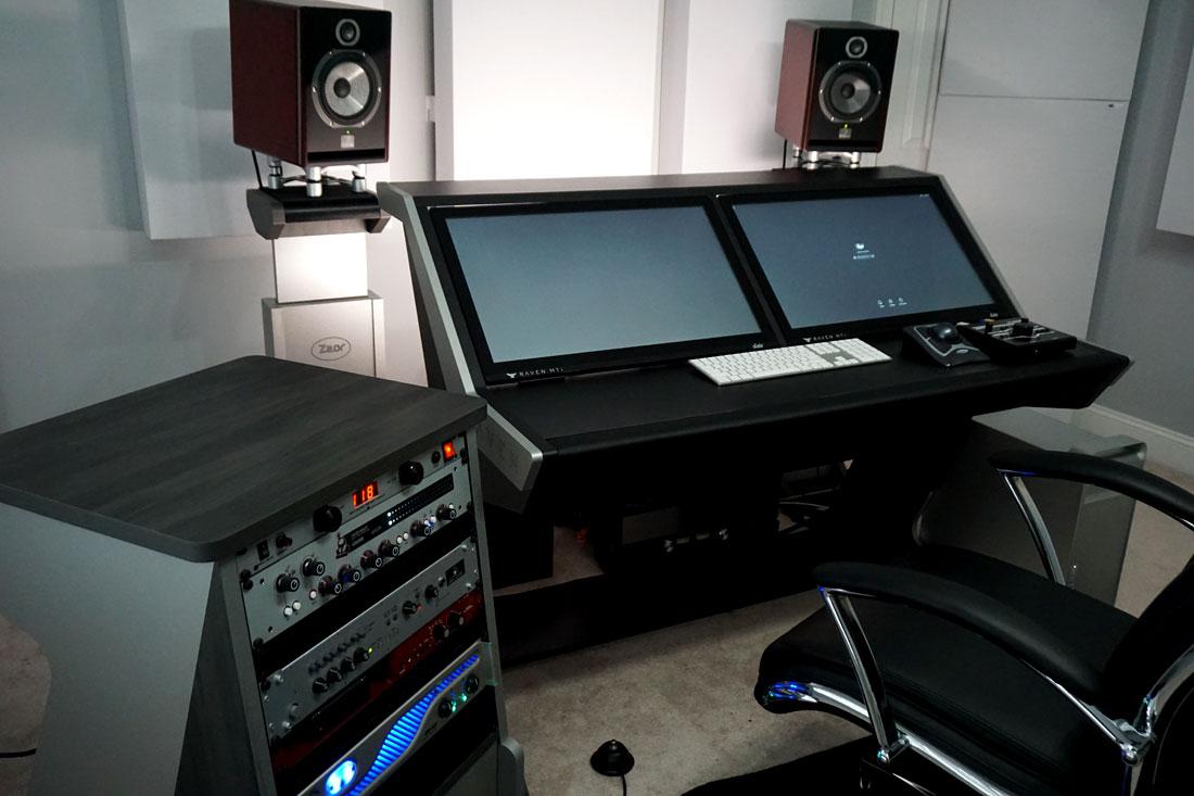 Homestudio mit 244 Bassfallen von GIK Acoustics