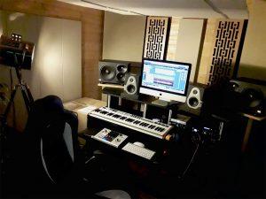 GIK Acoustics Impression Series Panels in Caveman Studdio