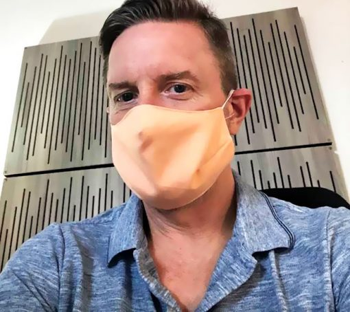 GIK Acoustics Behelfsmasken